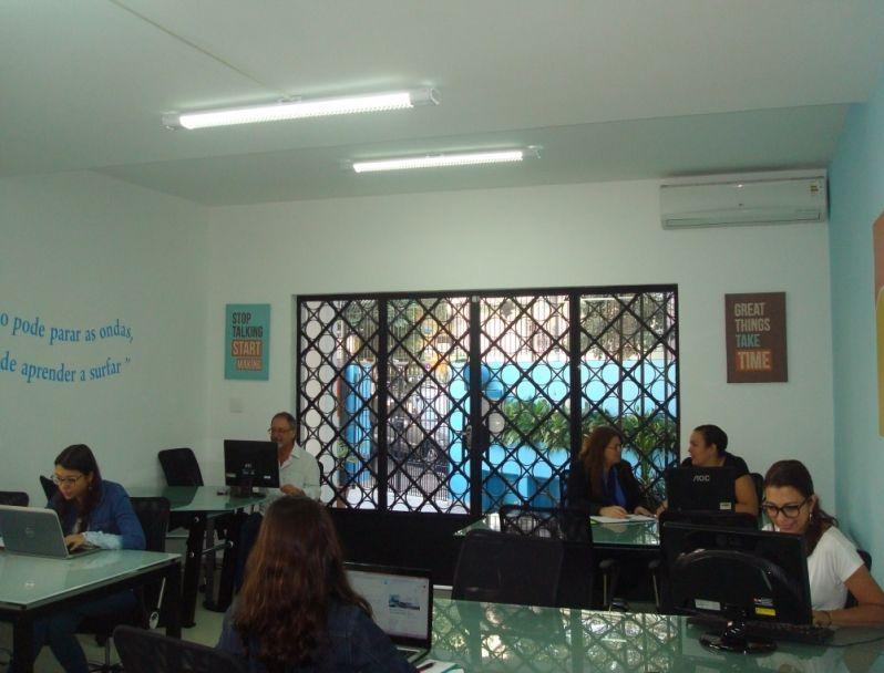 Locação de Escritório Virtual na Sé - Locação de Sala em Sp
