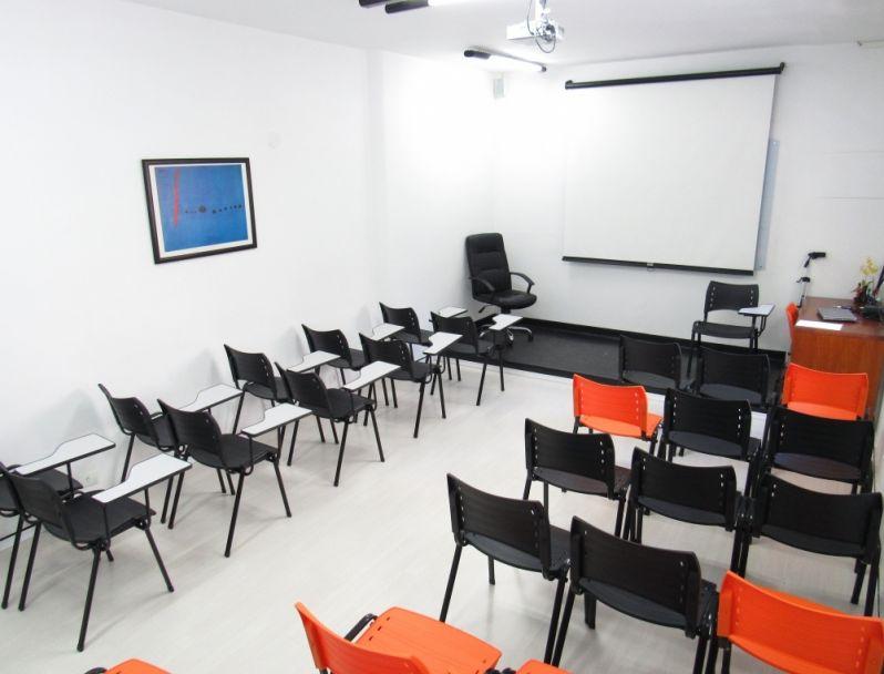 Locação de Salas para Cursos em Santa Cecília - Locação de Sala de Treinamento por Período