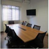 aluguel de sala de reunião preço na Cidade Jardim