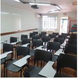 aluguel de salas para curso em Cerqueira César