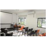 aluguel de salas para treinamentos no Centro