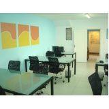 estações de trabalho em coworking no Jabaquara