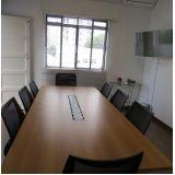 locação de sala de reunião preço na República
