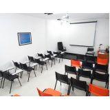 locação de salas para treinamento preço na Saúde