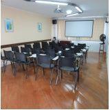 orçamento para aluguel de salas para curso em Higienópolis