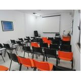 orçamento para locação de sala de treinamento por período na Liberdade
